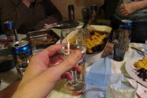 Pálinkás pohár