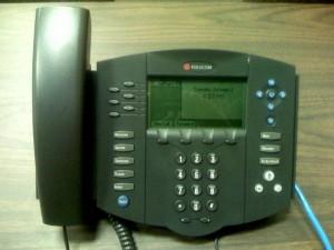 Az irodai telefon könnyen kezelhető