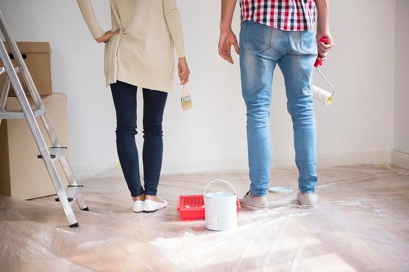 lakásfelújítás lépésről lépésre