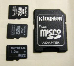 Minőségi SD kártyák